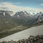 HDR composite photo from the ascent of Galdh�piggen